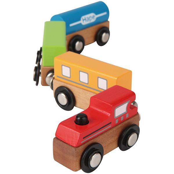 Đoàn tàu đồ chơi bằng gỗ Hape E0913A 4 toa