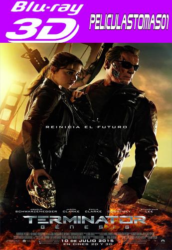 Terminator: Génesis (2015) 3DFull Half OU