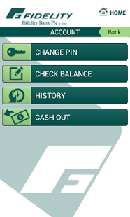 Fidelity Bank Mobile Application for android