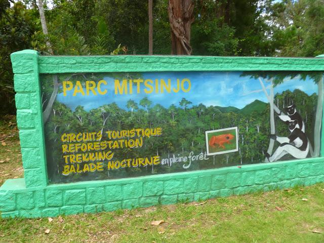 Entrée du Parc Mitsinjo (Station Forestière d'Analamazaotra). 31 décembre 2013. Photo : J. Marquet