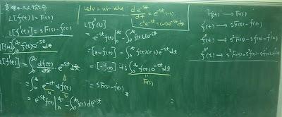微分的拉氏變換公式