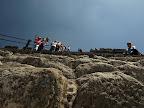 Aufstieg zur Mondpyramide