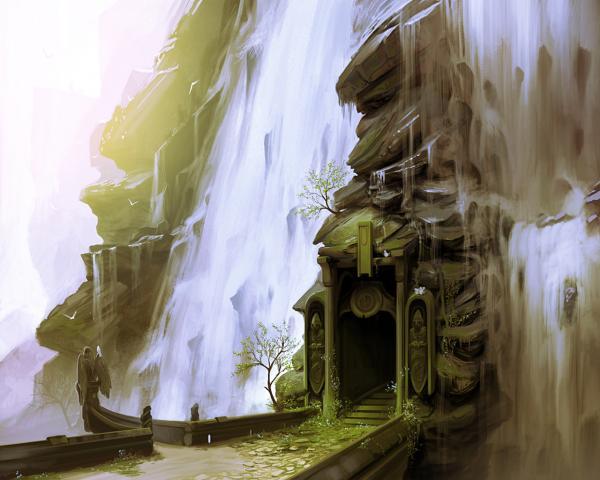 Mysterious Territory Of Deep, Magick Lands 1