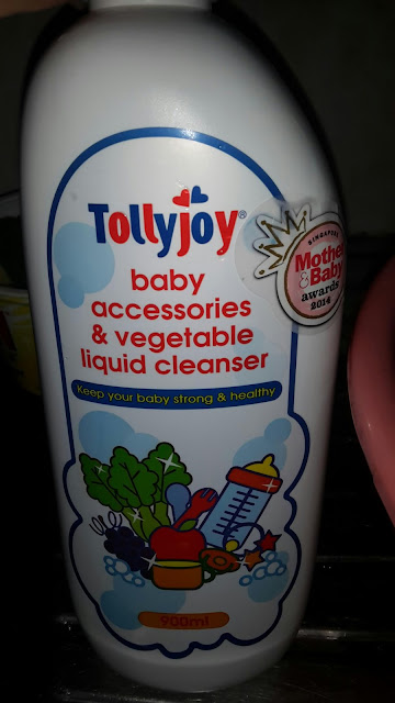 Tollyjoy baby accessories and vegetable liquid cleanser, pencuci botol susu