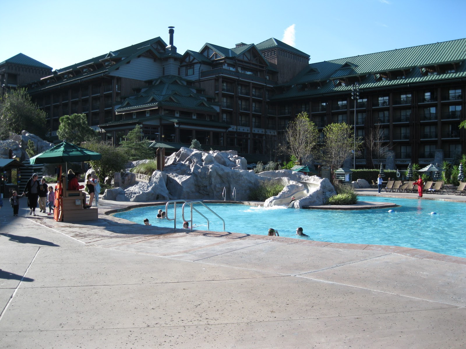 Disney s Wilderness Lodge  amp  The Villas at Wilderness LodgeWilderness Lodge Pool Slide