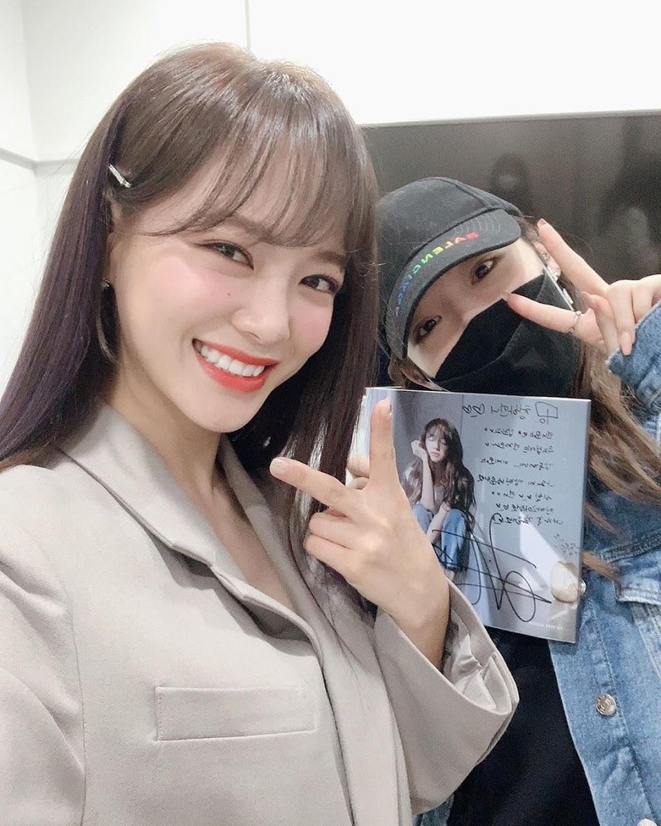 chungha sejeong 2