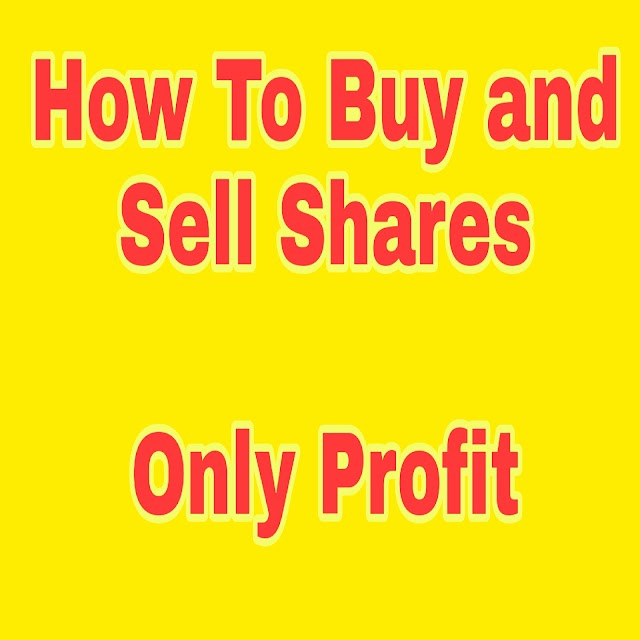 How to Buy and Sell Shares| Make only Profit | Stock Market for Beginners