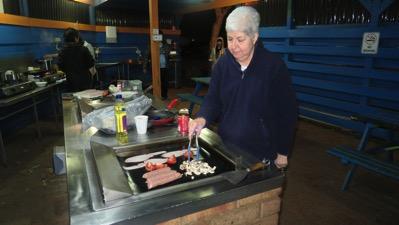 Pat at Barbeque