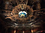 The wooden ceiling spectacular