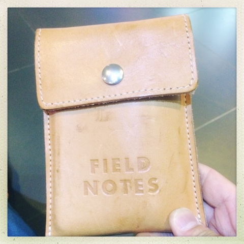 how to write field notes