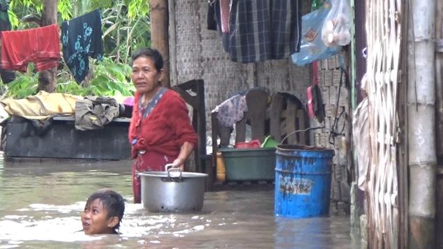Banjir Kembali Rendam Belasan Desa di Mojokerto