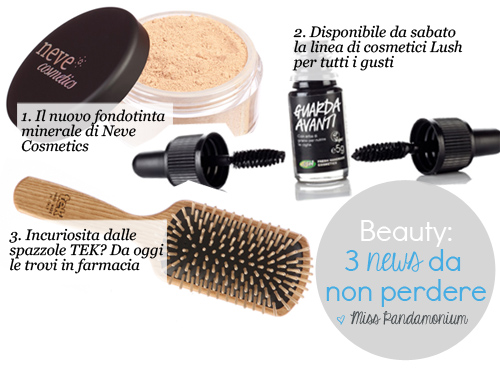 Beauty: Tre news da non perdere