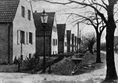 Maßbruchsiedlung, einst Hude (Hardisser Heide), jetzt Hardisser Straße.