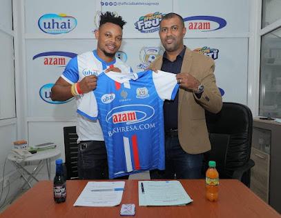 Azam FC yamnasa mshambuliaji Idris Mbombo kutoka El Gounah ya Misri