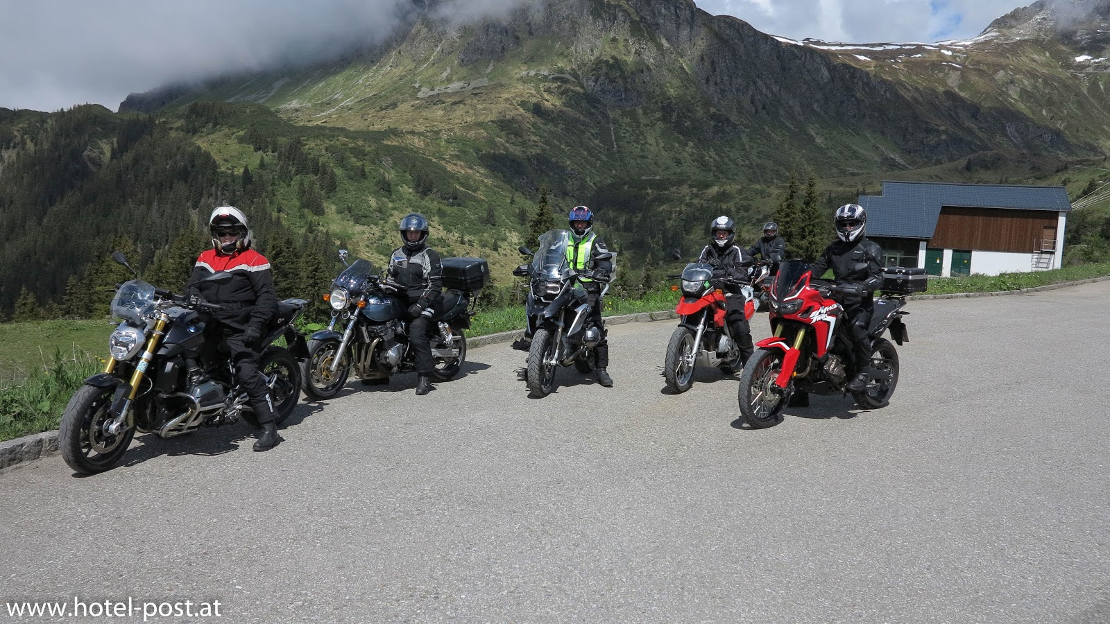 Motorrad - Bergfahr-Einsteigertraining 2017
