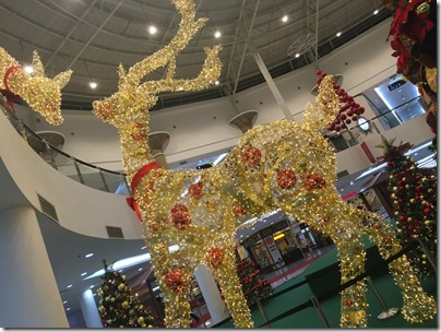 Reindeer Christmas Display, Dataran Pahlawan Mall