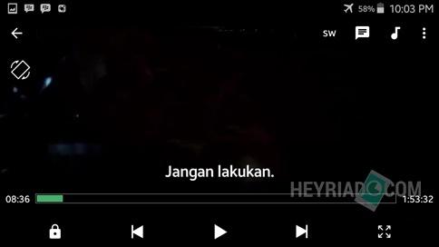 Cara Menggabungkan Subtitle Dengan Film di Android Cara Menggabungkan Subtitle Dengan Film di Android
