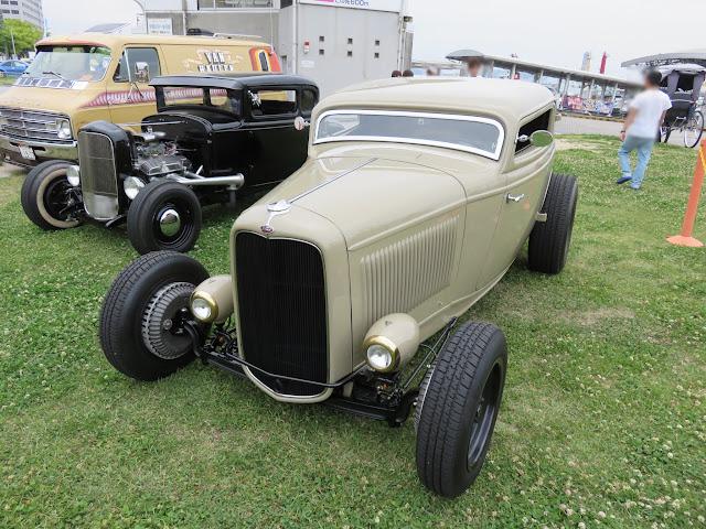 1932年型フォード・モデルB 3ウインドウクーペ/Classic Ford ホットロッド仕様 IN門司港