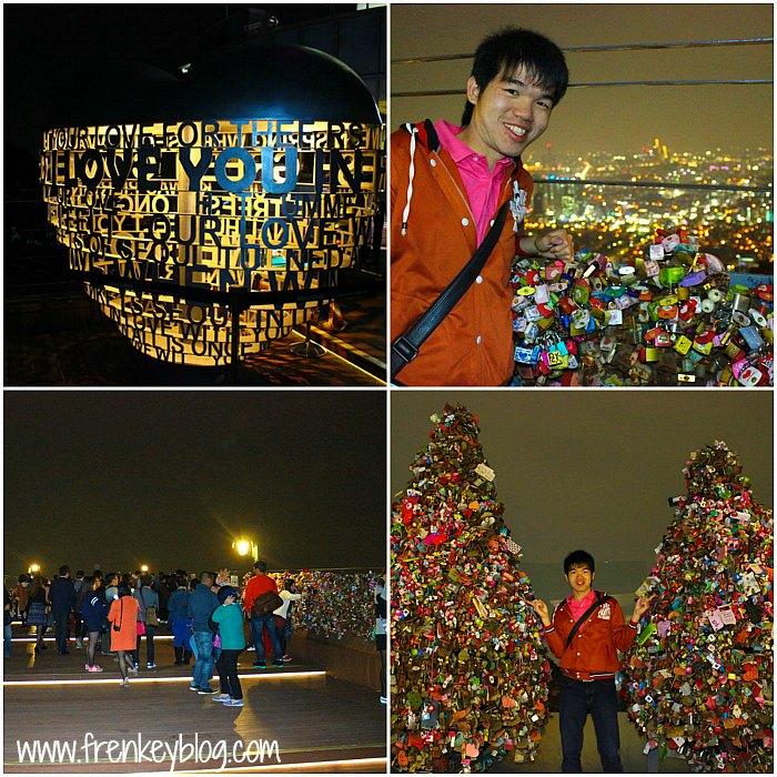 Narsis di Namsan Seoul Tower