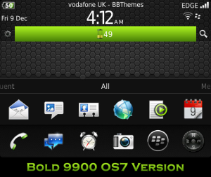 Tema Blackberry Bold 9900 Dakota