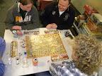 Nog een keertje Hanzesteden oefenen met de concurentie aan tafel.