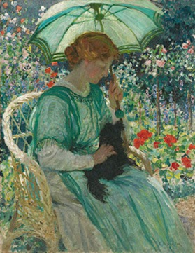 E_Phillips_Fox_-_The_green_parasol,_1912 Criteria is vintage