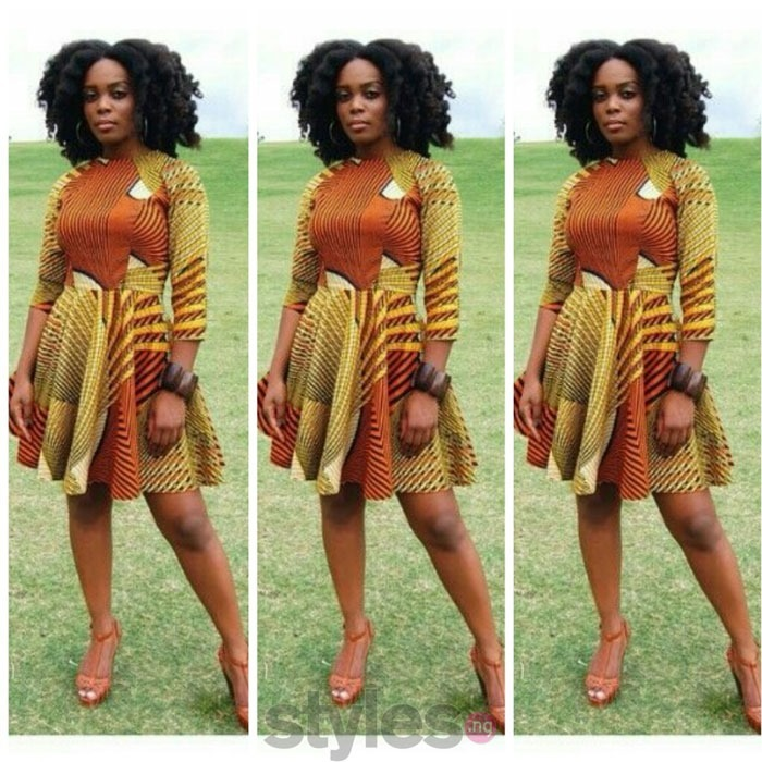 latest short ankara gown styles (10)