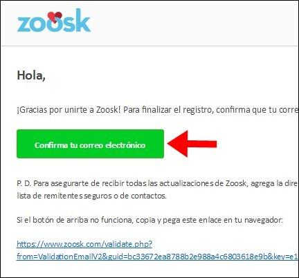 Abrir mi cuenta Zoosk - 581