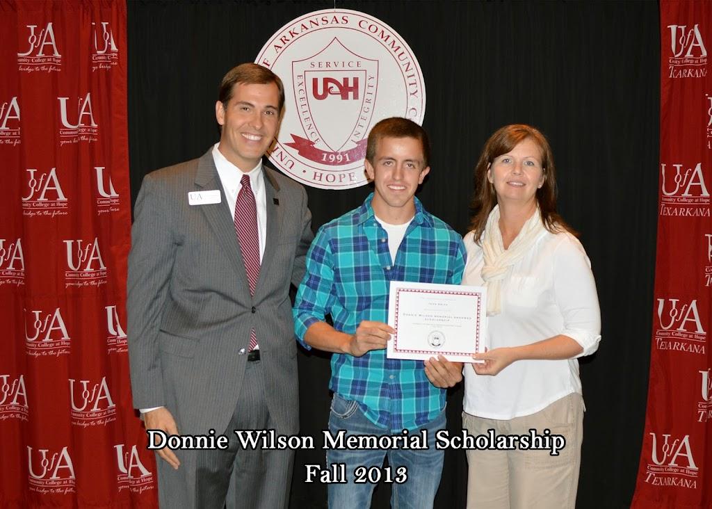 Scholarship Ceremony Fall 2013 - Donnie%2BWilson%2Bscholarship.jpg