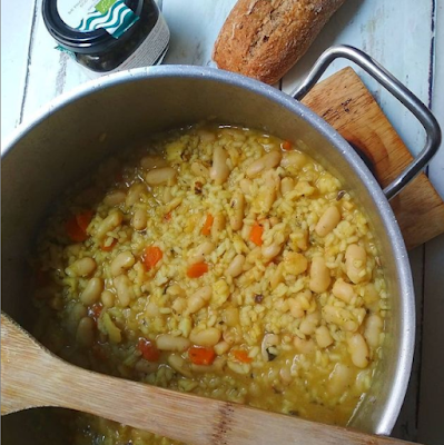 receta arroz marinera