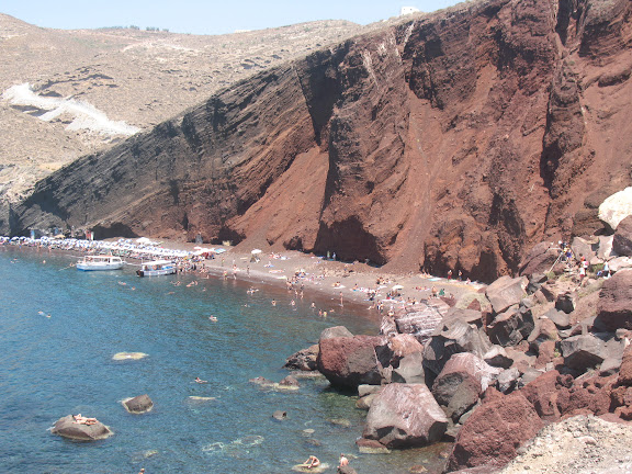 Playa Roja.-Santorini (Thera)