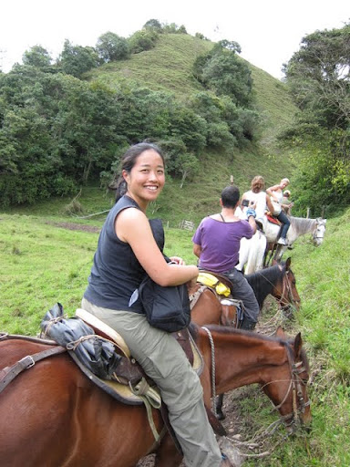 Horseback riding in Salento, Colombia