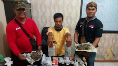 Polres Asahan Ringkus Bandar Narkoba SabuJalan Merpati Asahan