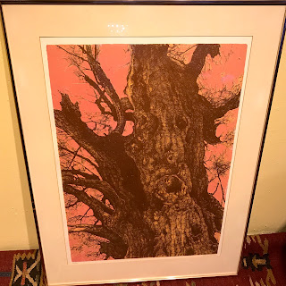 Signed Tree Lithograph