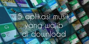 5 aplikasi musik yang wajib kalian download