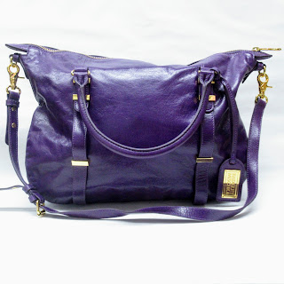 Badgley Mischka Purple ShoulderBag