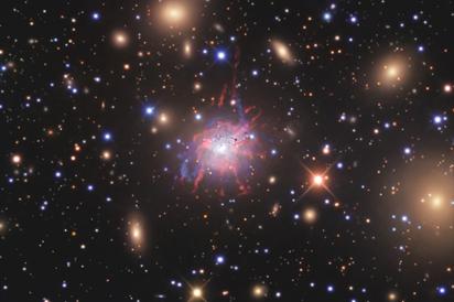 aglomerado de galáxias Perseus