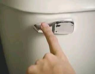 Secretion when urinating