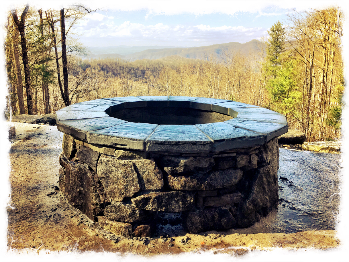 Outdoor Fire Pit Construction