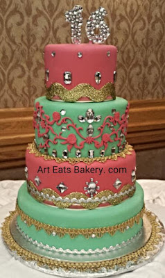 Birthday Cake Design Sites : Women and Teen s Birthday & Bridal Cakes - Art Eats Bakery ...