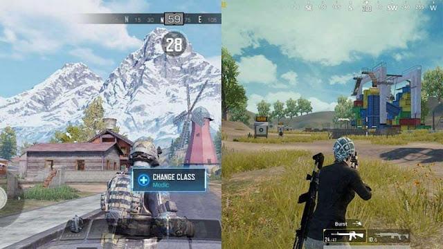PUBG Mobile vs COD Mobile: Hangi oyunun daha iyi grafikleri var?