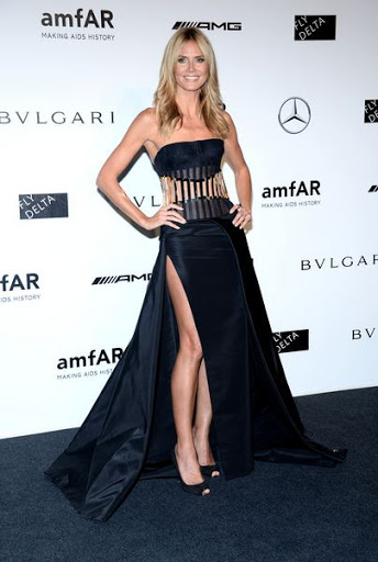 Heidi Klum Body Size