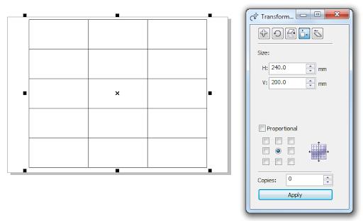 Kỹ thuật kẻ bảng trong CorelDRAW X5