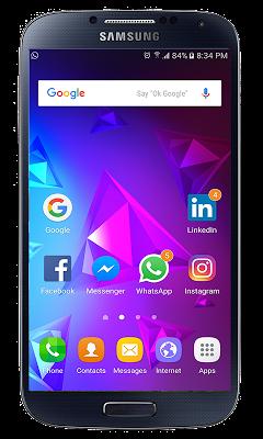 Huawei P9 launcher theme - screenshot