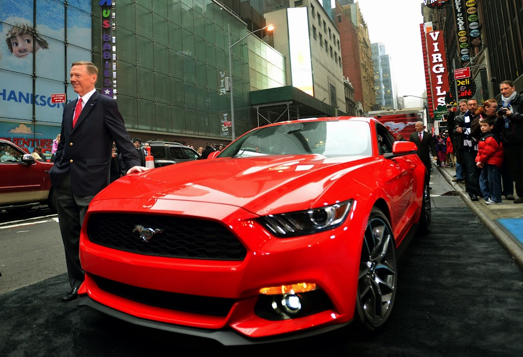 2015 Ford Mustang Times Square 4