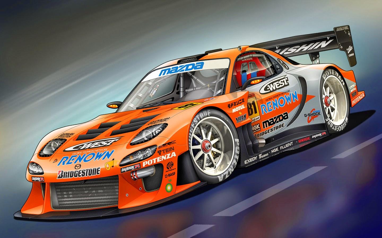 Mazda Racing Car Wallpaper  Best Cars Pictures