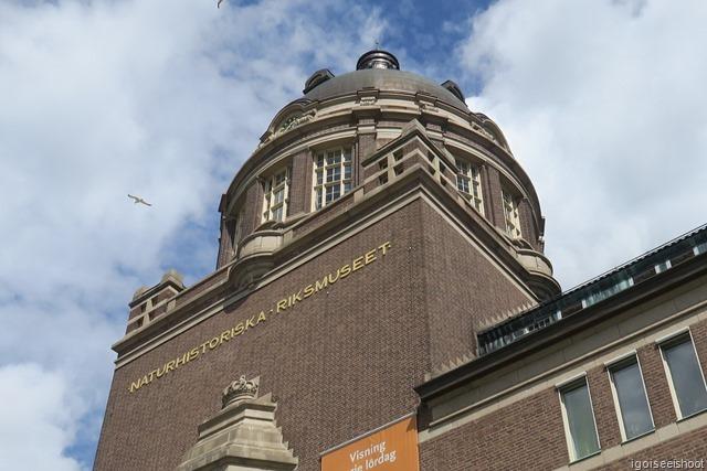 Natural History Museum (Naturhistoriska riksmuseet) in Stockholm