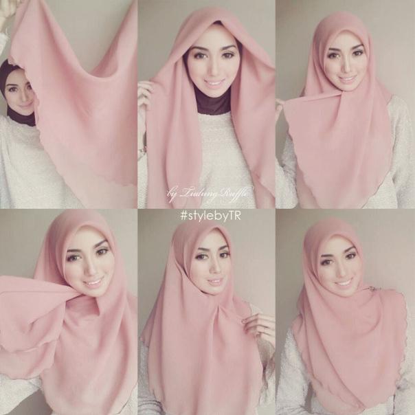 Ternyata Anggapan Itu Salah Muslimah Juga Boleh Berfesyen Tanpa Mengabaikan Hijabnya Berikut Merupakan 12 Fesyen Cara Pakai Tudung Bawal Terkini 2017