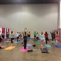 9Health Fair Yoga Open