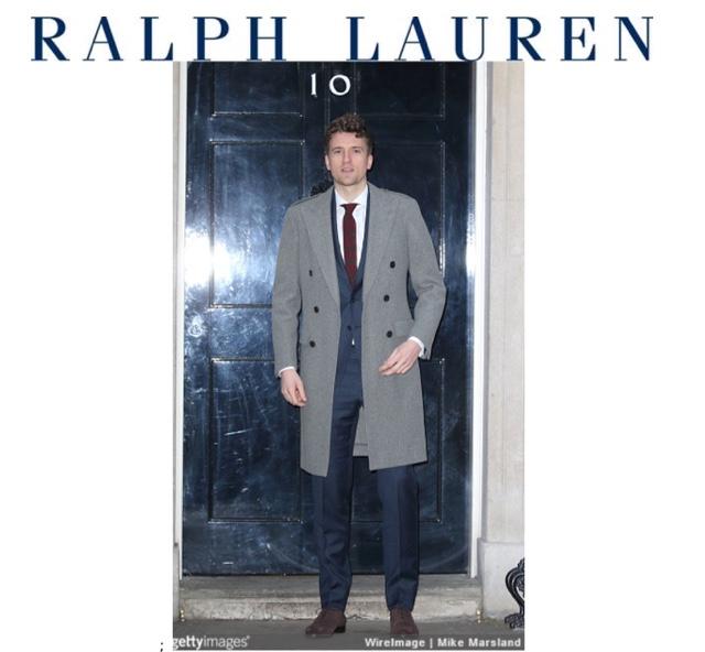 Grey Ralph Lauren Mens Shoes